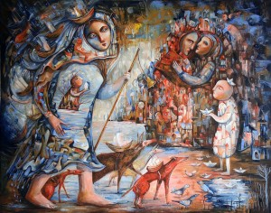 Vutreshen ostrov, Lilyana Dvoryanova, exhibition @ ETUD gallery, 2019