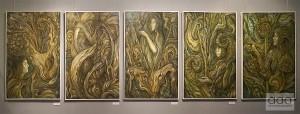 Orlin Dvorianov, exhibition @ ETUD gallery, 2019