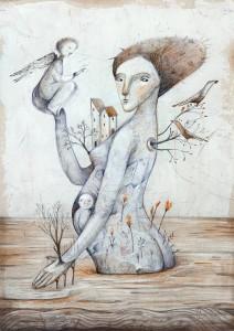 Ostrov Balgoveshtenie, Lilyana Dvoryanova, exhibition @ ETUD gallery, 2019